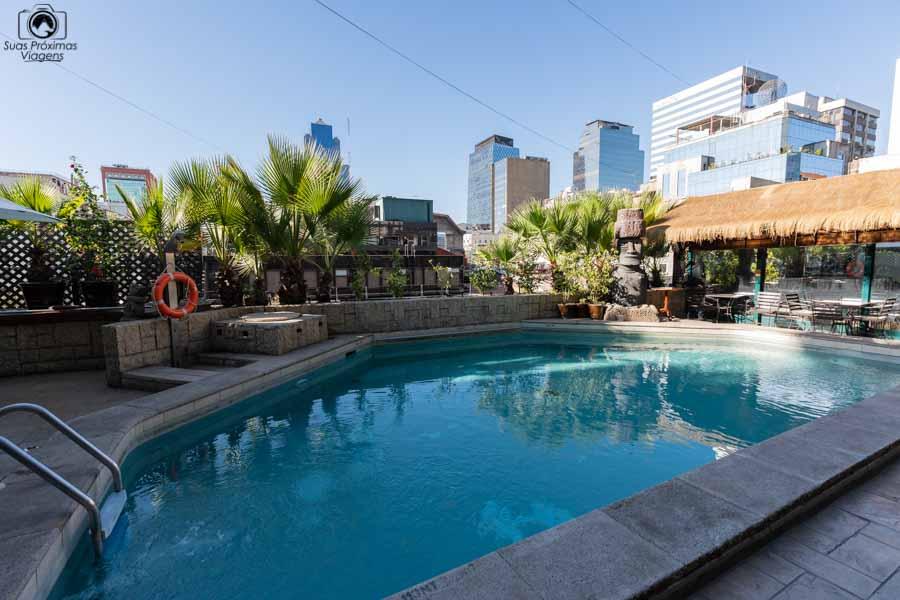 foto da piscina do Hotel Galerias