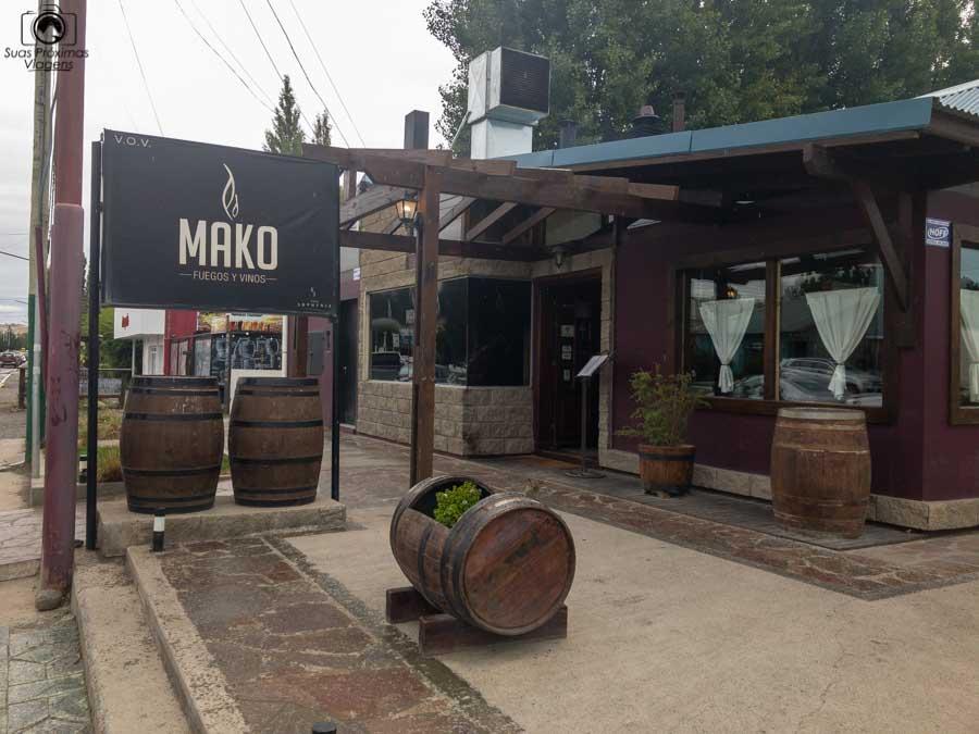 Imagem da entrada do restaurante Make em El Calafate