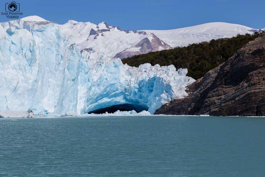 Imagem do Glaciar Perito Moreno durante navegação com a Southern Spirit II