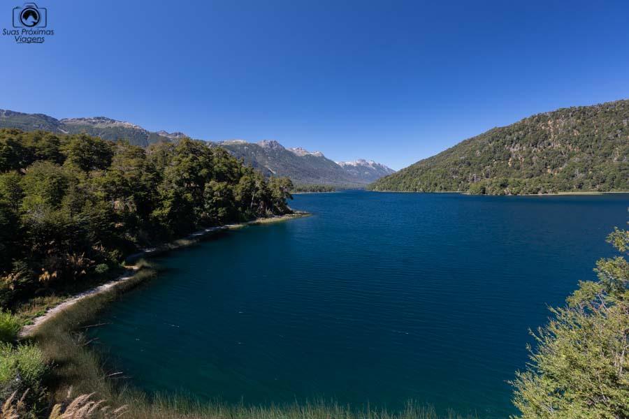 Imagem do Lago Correntoso