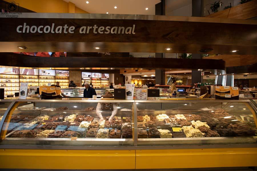 Imagem do Supermercado de Chocolates do Turista em Bariloche