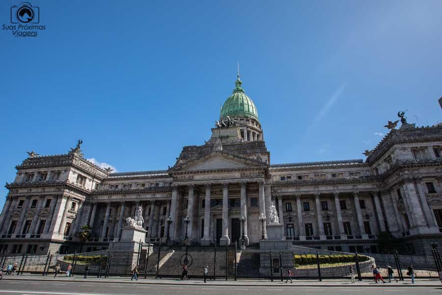 imagem do congresso de la Nacional argentina em Buenos Aires