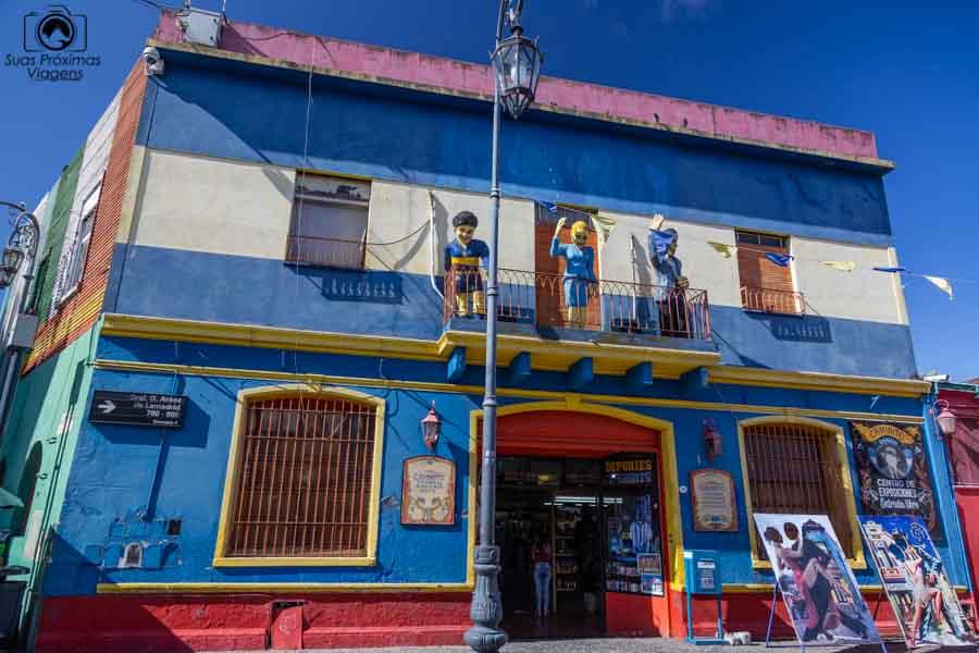 imagem da fachada da loja do El caminito