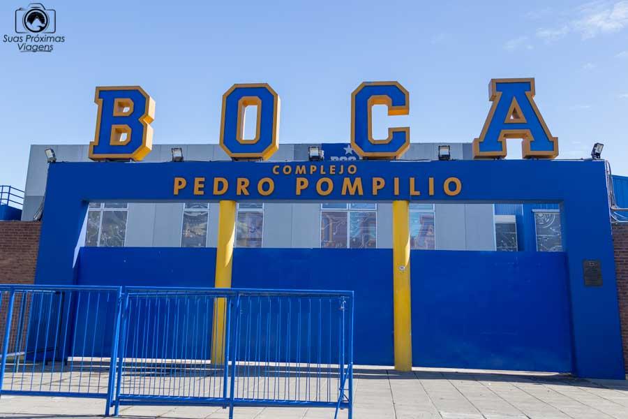 imagem do centro de treinamento do Boca