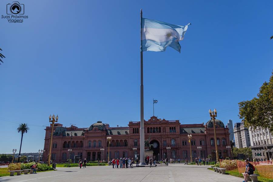 Imagem da Plaza de Mayo em o que fazer em Buenos Aires