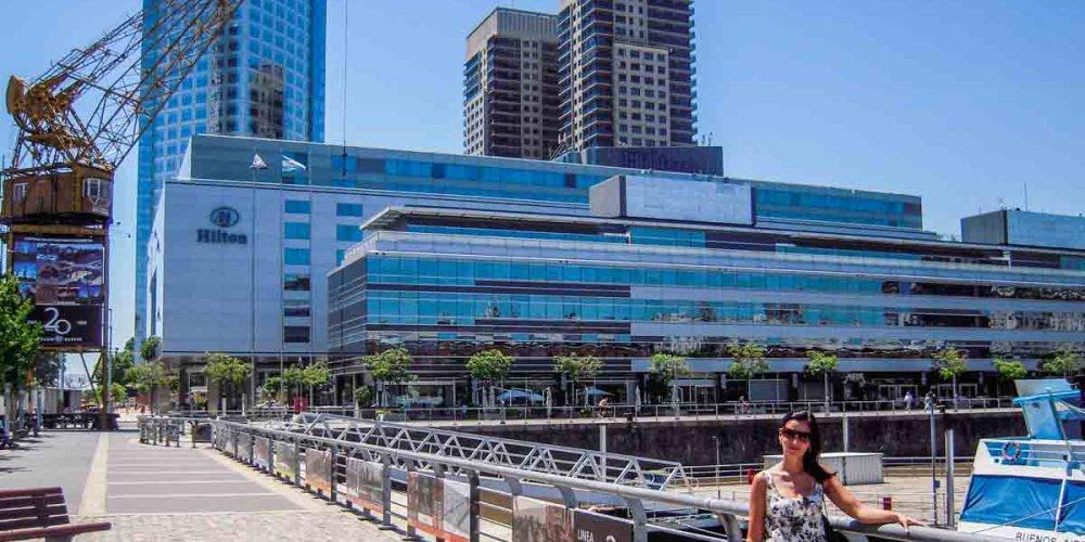 Imagem externa do Hilton Hotel em onde ficar em Buenos Aires