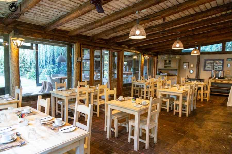 imagem do restaurante do hotel casa de campo