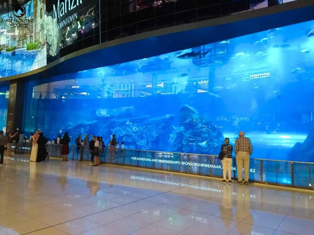 Imagem do Dubai Aquarium