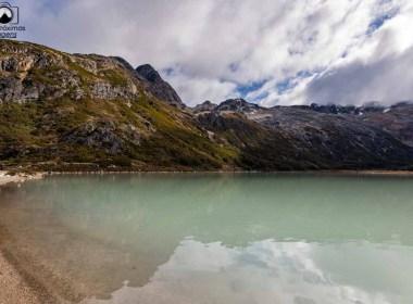 imagem da laguna esmeralda no ushuaia