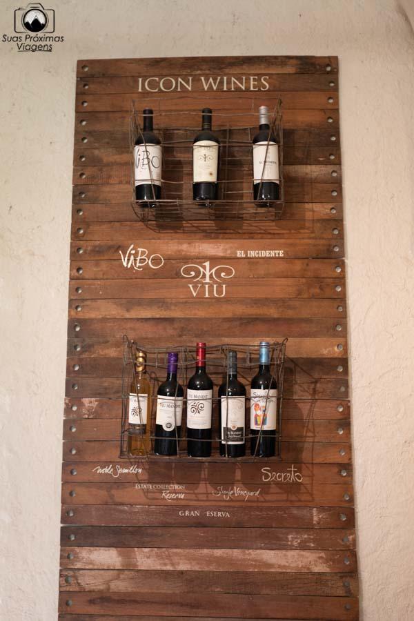 imagem dos vinhos ícones da Viu Manent