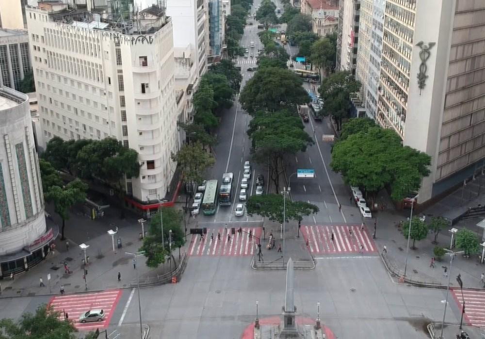 Belo Horizonte, em quarentena e sofrendo boicote de comerciantes
