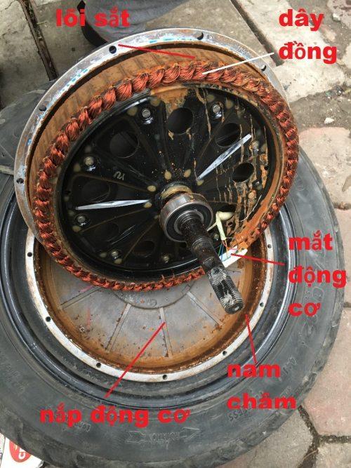 Cấu tạo động cơ xe điện 3 pha