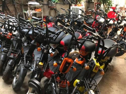 xe đạp điện cũ tại thái bình