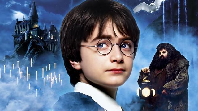 Обложка к фильму Гарри Поттер и Философский камень