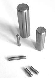 unhardened steel dowel pin