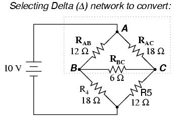 Δ Y And Y Δ Conversions DC Network Analysis Electronics Textbook