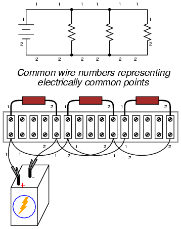 Building simple resistor circuits : SERIES AND PARALLEL