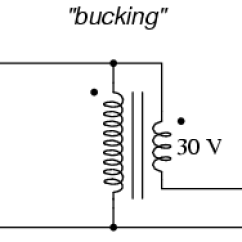 Auto Transformer Wiring Diagram Intermatic Pool Timer Winding Configurations Transformers Electronics Textbook Ordinary Wired As An Autotransformer To Buck The Line Voltage Down