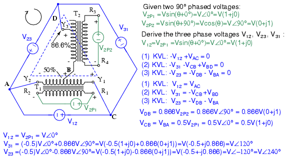 Volt Motor Wiring Diagram Special Transformers And Applications Transformers