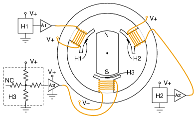 3 Phase Delta Motor Windings Diagram Wiring Schematic Brushless Dc Motor Ac Motors Electronics Textbook