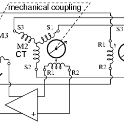 6 Lead 3 Phase Motor Wiring Diagram Chinese Mini Chopper Selsyn Synchro Motors Ac Electronics Textbook Servo Uses Ct To Sense Antenna Position Null