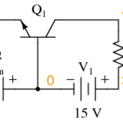 Common Base Configuration Circuit Diagram Kohler Shower Valve Parts The Amplifier Bipolar Junction Transistors For Dc Spice Analysis