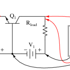 Common Base Configuration Circuit Diagram 2003 Mitsubishi Mirage Stereo Wiring The Amplifier Bipolar Junction Transistors Phase Relationships And Offsets For Npn
