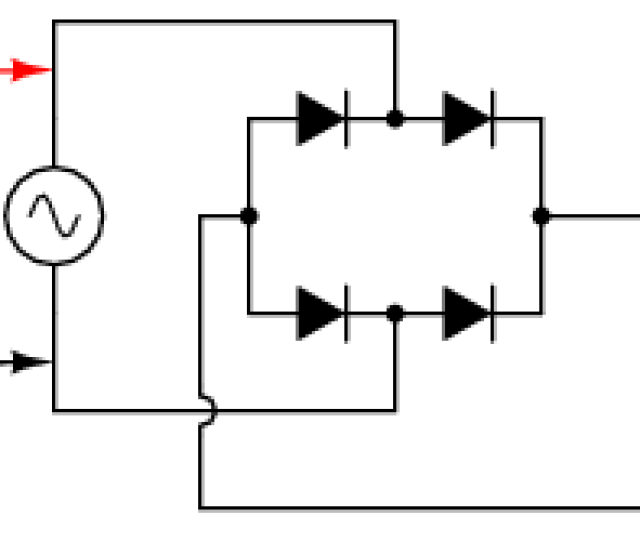 Alternative Layout Style For Full Wave Bridge Rectifier