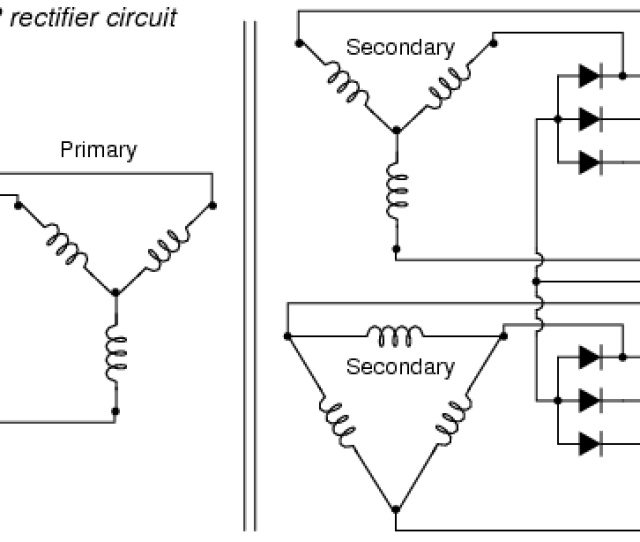 Polyphase Rectifier Circuit  Way Ph2w12p