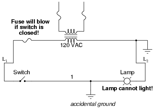 3 way switch ladder diagram rj31x wiring diagrams logic electronics textbook with both sides of the lamp connected to ground will be shorted out and unable receive power light up if were close