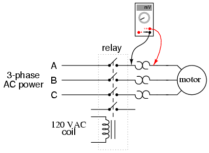 contactor and thermal overload relay wiring diagram of the spine vertebrates three phase motor principle principlecontactors electromechanical relays electronics textbook