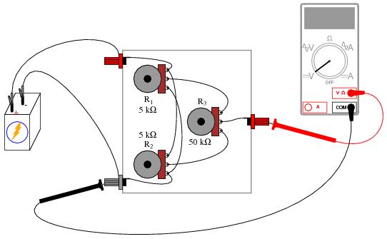 potentiometer wiring schematic