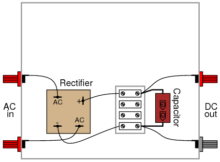 110 Volt Schematic Wiring Rectifier Filter Circuit Discrete Semiconductor Circuits
