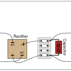 Rv Wiring Diagram Parallel Battery Rectifier/filter Circuit | Discrete Semiconductor Circuits Electronics Textbook