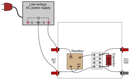 110 Volt Heater Switch Wiring Diagram Rectifier Filter Circuit Discrete Semiconductor Circuits