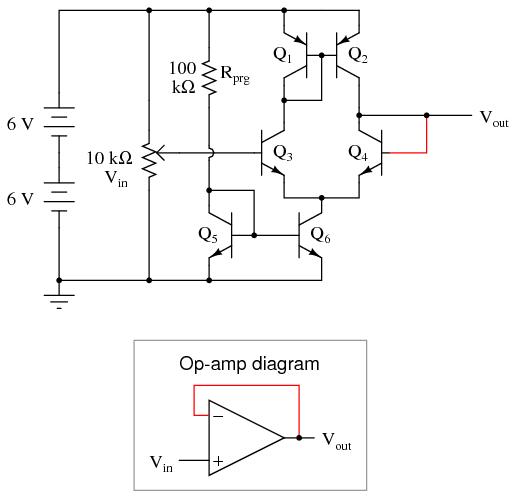 diagram of sub amp