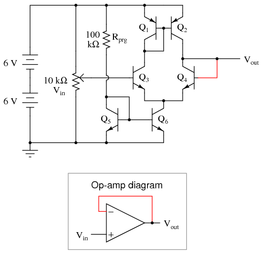 common base configuration circuit diagram poulan wild thing fuel line simple op-amp | discrete semiconductor circuits electronics textbook