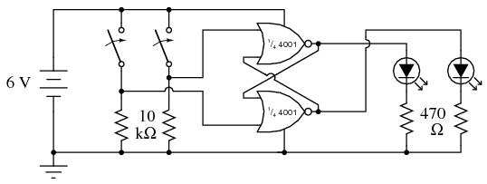 circuit diagram of and gate