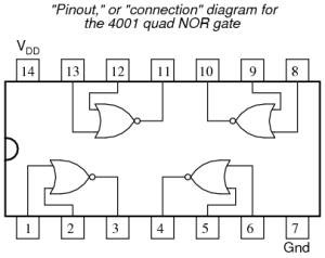 NOR Gate SR Latch | Digital Integrated Circuits