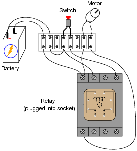 Relay Base Wiring Diagram