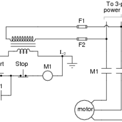 Start Stop Wiring Diagram Megaflow Ac Motor Control Circuits Electric Worksheets Explain The Operation Of This Circuit From Time Switch Is Actuated To Normally Open M1 Contact