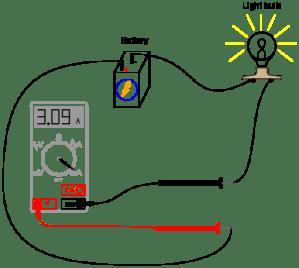 Basic Ammeter Use | Basic Electricity Worksheets