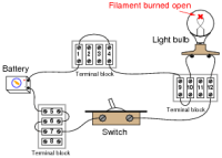 Basic Circuit Troubleshooting | Basic Electricity Worksheets
