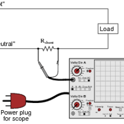 Shunt Resistor Wiring Diagram 2 Light Switch Basic Oscilloscope Operation | Ac Electric Circuits Worksheets
