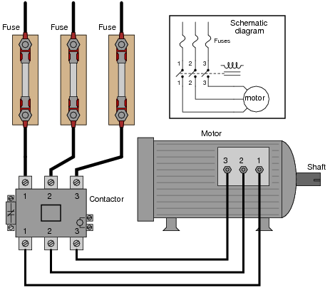 Motor Start Stop Circuit Diagram