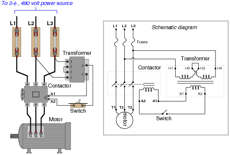diagram motor control wiring dometic single zone lcd thermostat ac circuits electric worksheets for each of the proposed faults explain why they would prevent from starting