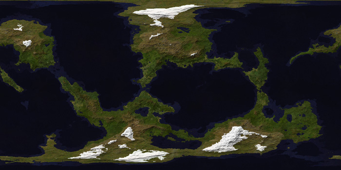 FT3 World Map with new Climate Textures