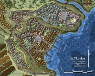 fantasy map town maps cartographer port profantasy medieval rpg village mapping campaign dungeons cartography tiles annual google dragons plan cities