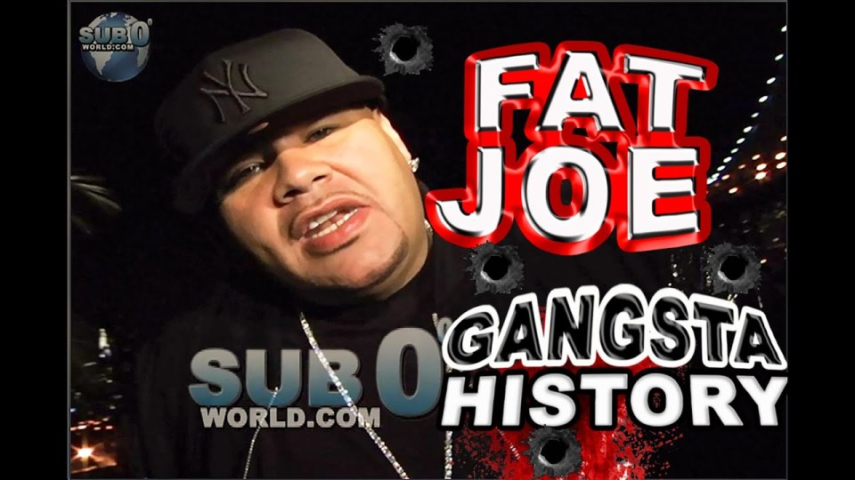 FAT JOE TALKS GANGSTA HISTORY!!