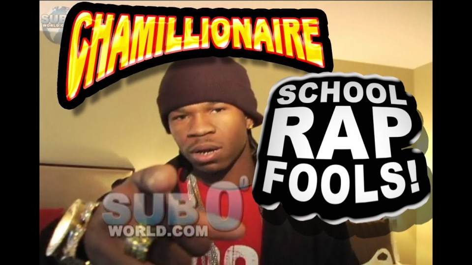 CHAMILLIONAIRE SCHOOL RAP FOOLS on GAME!